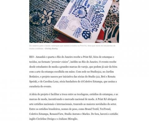 O Globo – Ela