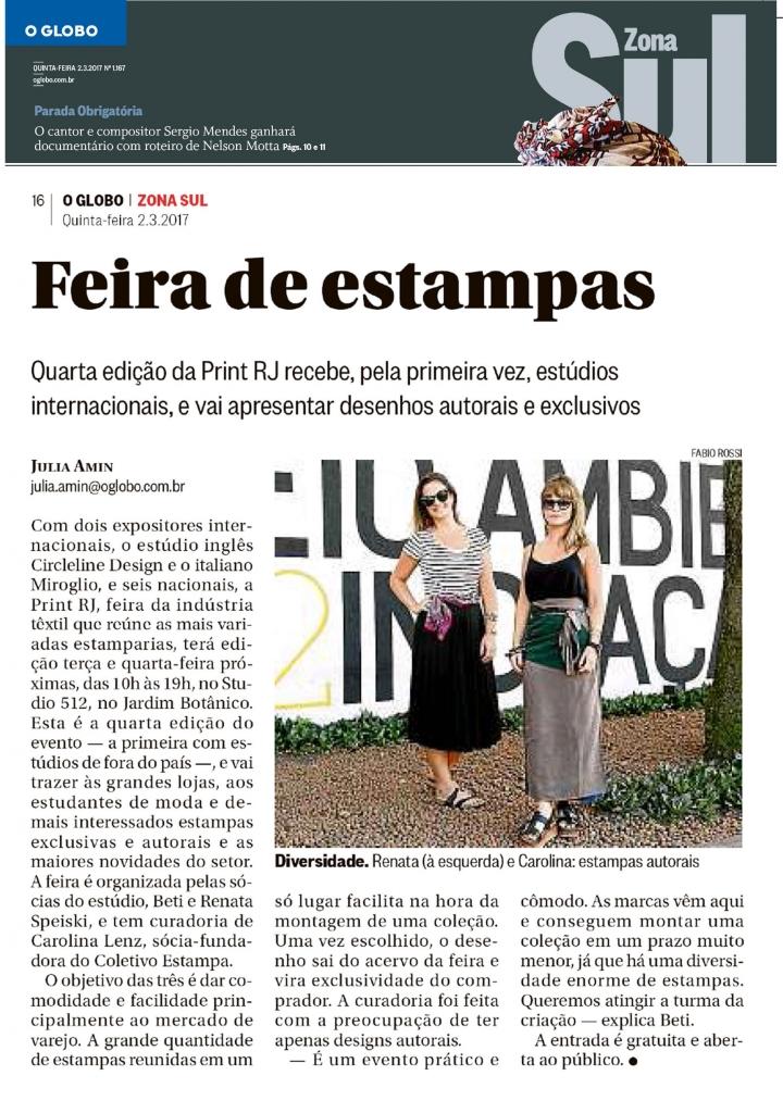 O Globo – Zona Sul
